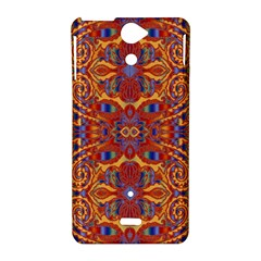 Oriental Watercolor Ornaments Kaleidoscope Mosaic Sony Xperia V