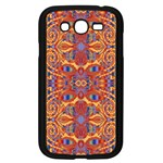 Oriental Watercolor Ornaments Kaleidoscope Mosaic Samsung Galaxy Grand DUOS I9082 Case (Black) Front