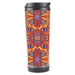 Oriental Watercolor Ornaments Kaleidoscope Mosaic Travel Tumbler Center