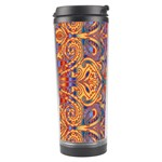 Oriental Watercolor Ornaments Kaleidoscope Mosaic Travel Tumbler Right