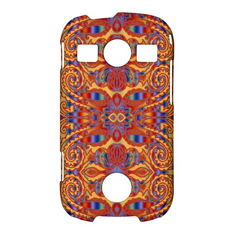 Oriental Watercolor Ornaments Kaleidoscope Mosaic Samsung Galaxy S7710 Xcover 2 Hardshell Case