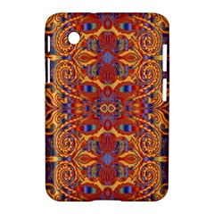 Oriental Watercolor Ornaments Kaleidoscope Mosaic Samsung Galaxy Tab 2 (7 ) P3100 Hardshell Case
