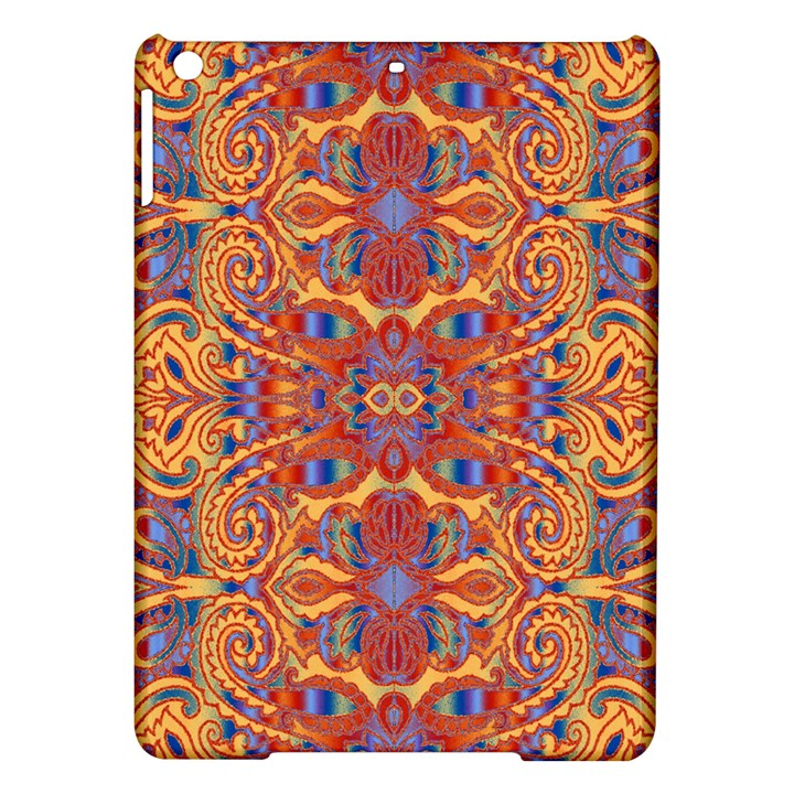 Oriental Watercolor Ornaments Kaleidoscope Mosaic iPad Air Hardshell Cases