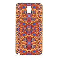 Oriental Watercolor Ornaments Kaleidoscope Mosaic Samsung Galaxy Note 3 N9005 Hardshell Back Case