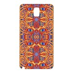 Oriental Watercolor Ornaments Kaleidoscope Mosaic Samsung Galaxy Note 3 N9005 Hardshell Back Case Front