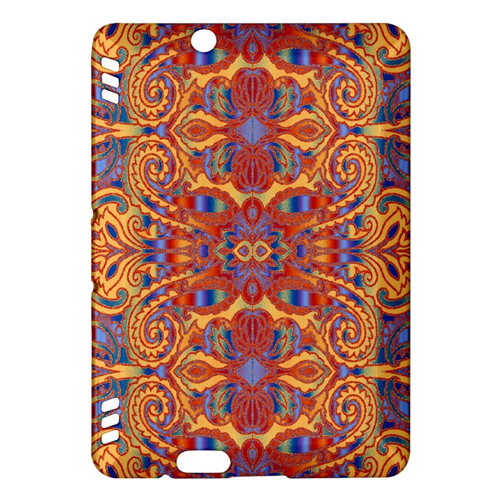 Oriental Watercolor Ornaments Kaleidoscope Mosaic Kindle Fire HDX Hardshell Case