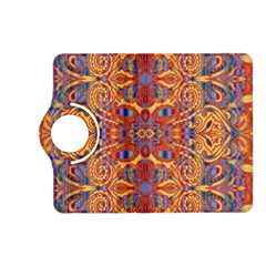 Oriental Watercolor Ornaments Kaleidoscope Mosaic Kindle Fire HD (2013) Flip 360 Case