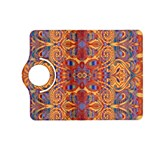 Oriental Watercolor Ornaments Kaleidoscope Mosaic Kindle Fire HD (2013) Flip 360 Case Front