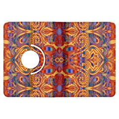 Oriental Watercolor Ornaments Kaleidoscope Mosaic Kindle Fire HDX Flip 360 Case