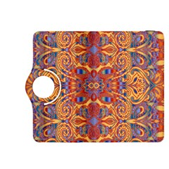Oriental Watercolor Ornaments Kaleidoscope Mosaic Kindle Fire HDX 8.9  Flip 360 Case