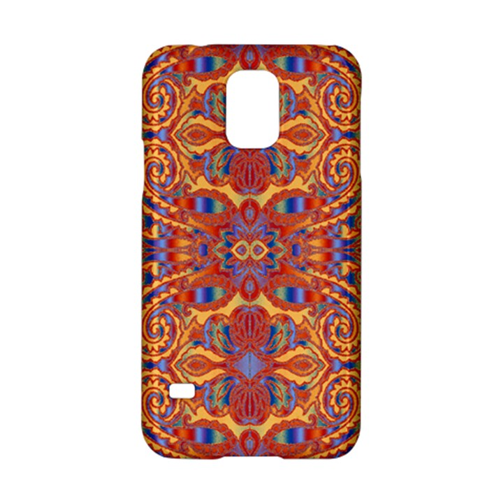 Oriental Watercolor Ornaments Kaleidoscope Mosaic Samsung Galaxy S5 Hardshell Case
