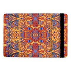 Oriental Watercolor Ornaments Kaleidoscope Mosaic Samsung Galaxy Tab Pro 10 1  Flip Case