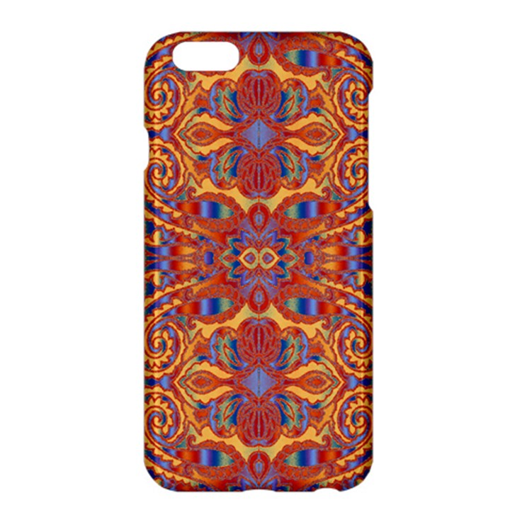 Oriental Watercolor Ornaments Kaleidoscope Mosaic Apple iPhone 6 Plus/6S Plus Hardshell Case