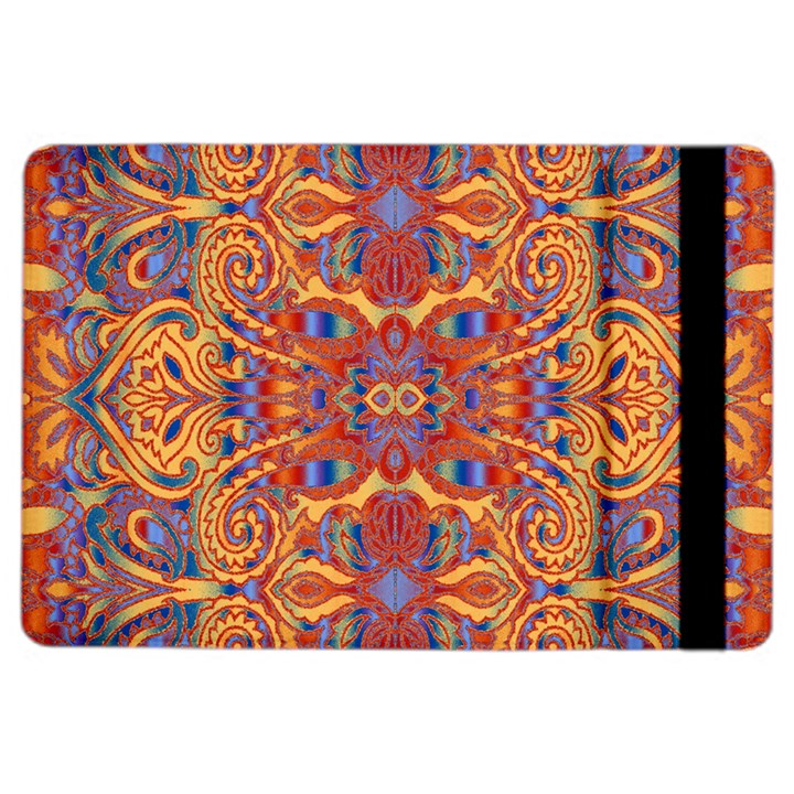 Oriental Watercolor Ornaments Kaleidoscope Mosaic iPad Air 2 Flip
