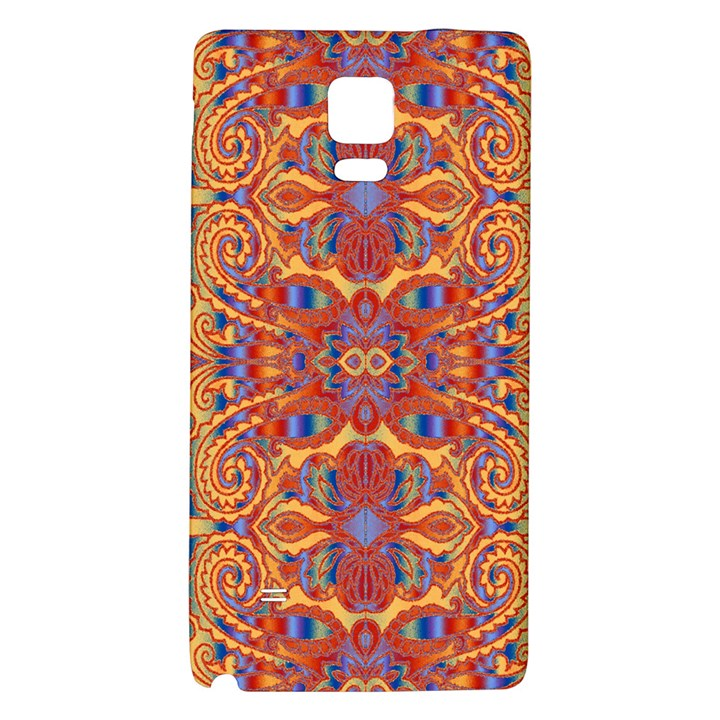 Oriental Watercolor Ornaments Kaleidoscope Mosaic Galaxy Note 4 Back Case