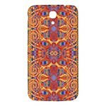 Oriental Watercolor Ornaments Kaleidoscope Mosaic Samsung Galaxy Mega I9200 Hardshell Back Case Front