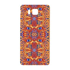 Oriental Watercolor Ornaments Kaleidoscope Mosaic Samsung Galaxy Alpha Hardshell Back Case