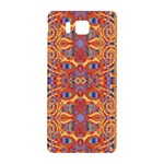 Oriental Watercolor Ornaments Kaleidoscope Mosaic Samsung Galaxy Alpha Hardshell Back Case Front