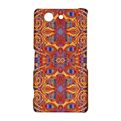 Oriental Watercolor Ornaments Kaleidoscope Mosaic Sony Xperia Z3 Compact