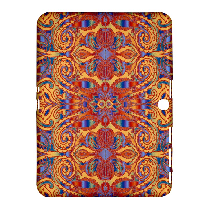Oriental Watercolor Ornaments Kaleidoscope Mosaic Samsung Galaxy Tab 4 (10.1 ) Hardshell Case
