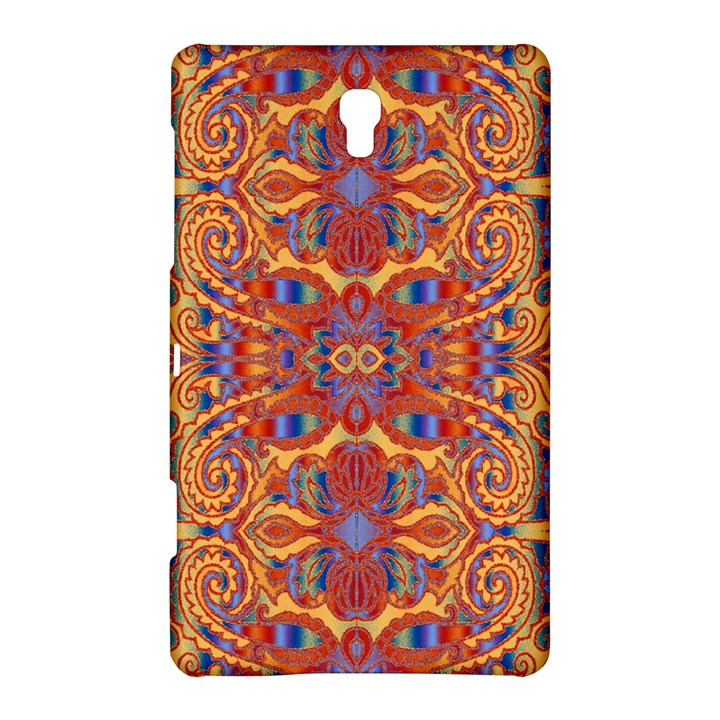 Oriental Watercolor Ornaments Kaleidoscope Mosaic Samsung Galaxy Tab S (8.4 ) Hardshell Case