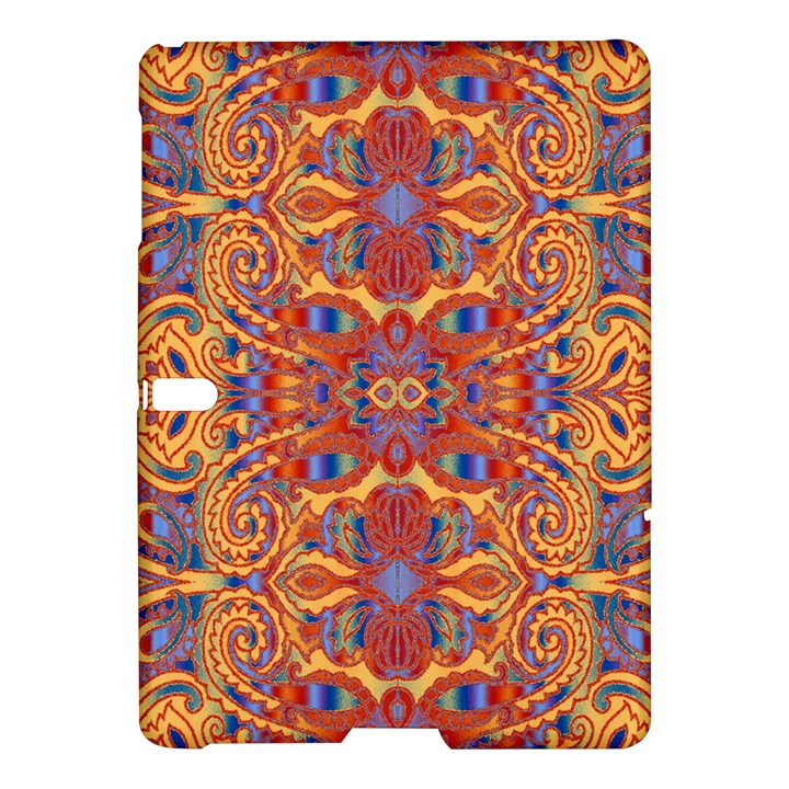 Oriental Watercolor Ornaments Kaleidoscope Mosaic Samsung Galaxy Tab S (10.5 ) Hardshell Case