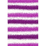 Metallic Pink Glitter Stripes 5.5  x 8.5  Notebooks Back Cover Inside