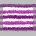 Metallic Pink Glitter Stripes Deluxe Canvas 16  x 12   16  x 12  x 1.5  Stretched Canvas
