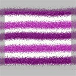 Metallic Pink Glitter Stripes Deluxe Canvas 20  x 16   20  x 16  x 1.5  Stretched Canvas