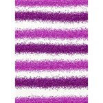 Metallic Pink Glitter Stripes YOU ARE INVITED 3D Greeting Card (7x5) Inside