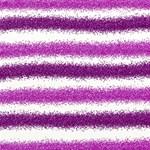 Metallic Pink Glitter Stripes Best Wish 3D Greeting Card (8x4) Inside