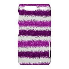 Metallic Pink Glitter Stripes Motorola Droid Razr XT912