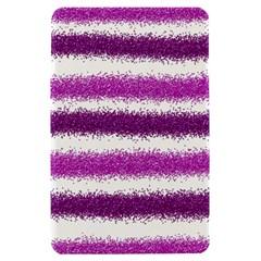 Metallic Pink Glitter Stripes Kindle Fire (1st Gen) Hardshell Case