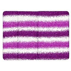 Metallic Pink Glitter Stripes Kindle Fire (1st Gen) Flip Case