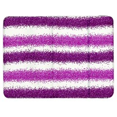 Metallic Pink Glitter Stripes Samsung Galaxy Tab 7  P1000 Flip Case