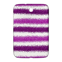 Metallic Pink Glitter Stripes Samsung Galaxy Note 8.0 N5100 Hardshell Case