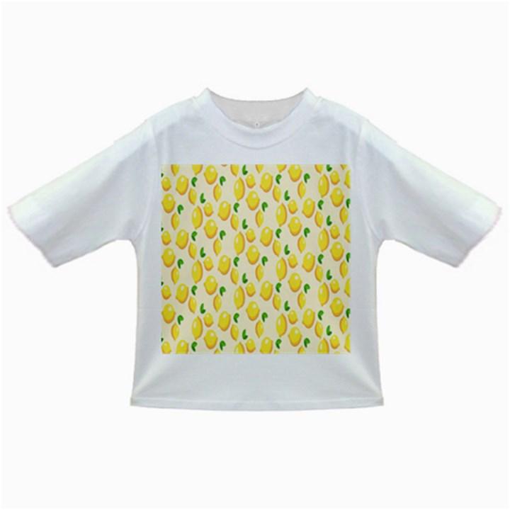 Pattern Template Lemons Yellow Infant/Toddler T-Shirts