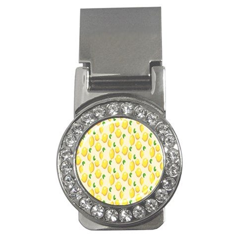 Pattern Template Lemons Yellow Money Clips (CZ)