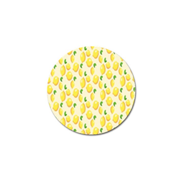 Pattern Template Lemons Yellow Golf Ball Marker (10 pack)