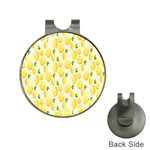 Pattern Template Lemons Yellow Hat Clips with Golf Markers Front