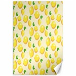 Pattern Template Lemons Yellow Canvas 24  x 36  36 x24 Canvas - 1