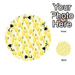 Pattern Template Lemons Yellow Playing Cards 54 (Round)  Front - Spade7