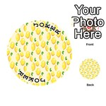Pattern Template Lemons Yellow Playing Cards 54 (Round)  Front - Joker1