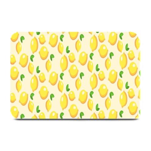 Pattern Template Lemons Yellow Plate Mats
