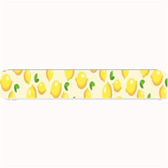 Pattern Template Lemons Yellow Small Bar Mats