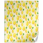 Pattern Template Lemons Yellow Canvas 11  x 14   14 x11 Canvas - 1