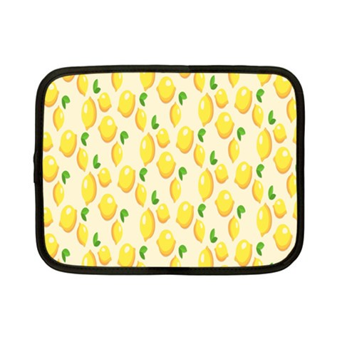 Pattern Template Lemons Yellow Netbook Case (Small)