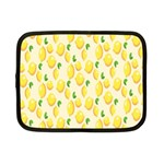 Pattern Template Lemons Yellow Netbook Case (Small)  Front