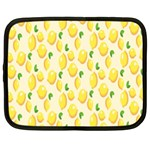Pattern Template Lemons Yellow Netbook Case (Large) Front