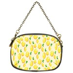 Pattern Template Lemons Yellow Chain Purses (One Side)  Front